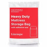 Linenspa Heavy Mattress Storage Bag with Double Adhesive Closure, Queen,...