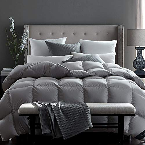 Globon Fusion White Goose Down Comforter King Size,Heavy Weight for Winter,...