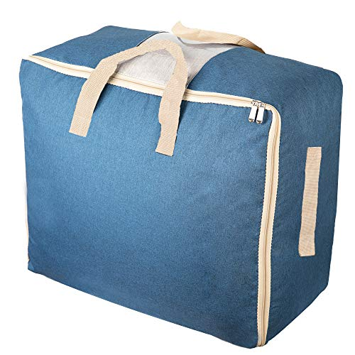 Qozary Large Storage Bags for Comforters, Blankets, Clothes, Quilts and...