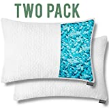 Dapper Display Shredded Memory Foam Pillows for Sleeping Bamboo Cooling...