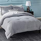 Bedsure California King Comforter Sets, Bed Comforter Cal King Set, Grey...