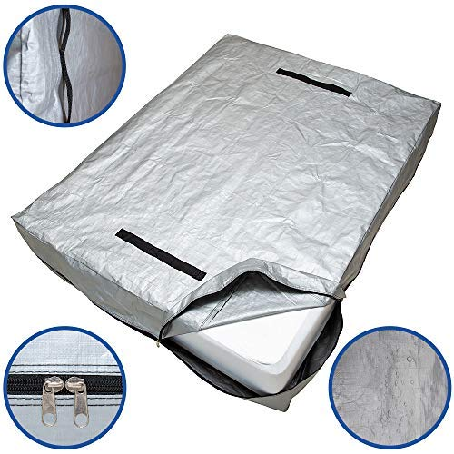 CALOONA Mattress Bags for Moving and Storage-Patent Pending Reusable...