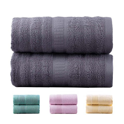 Jml Bamboo Bath Towels | 2 Piece Luxury Bath Towel Set for...