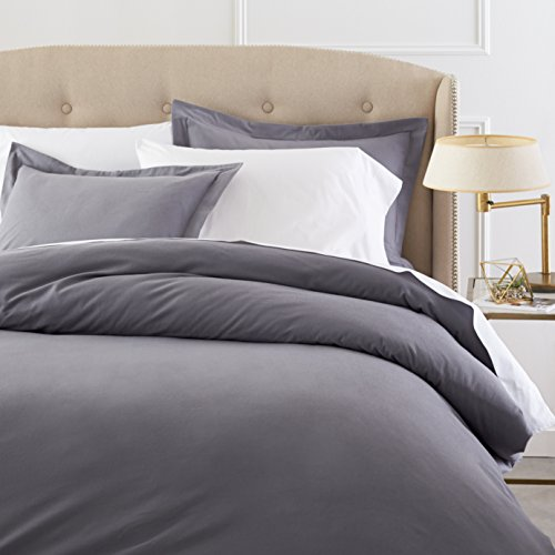 Pinzon Signature Cotton Heavyweight Velvet Flannel Duvet Set - Full or...