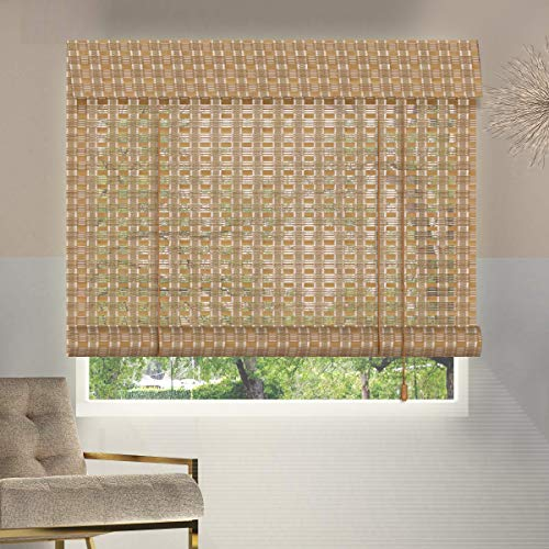 ZY Blinds Bamboo Window Blinds, 20W x 36H Inches...