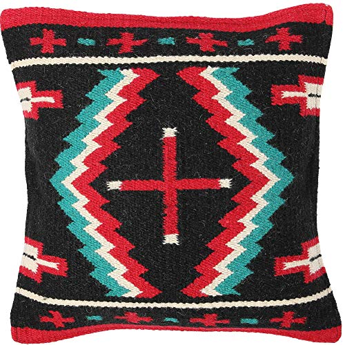 El Paso Designs Throw Pillow Covers 18 X 18- Hand Woven Wool in Southwest,...