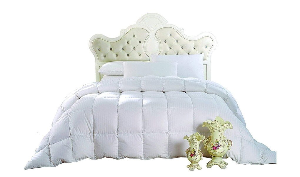 Royal Hotels 650 Fill Power 100 Cotton 300TC Down Comforter