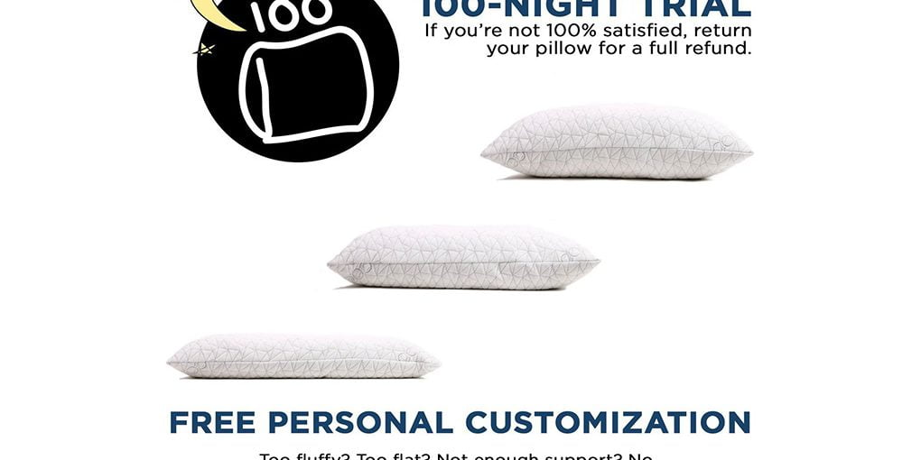 Adjustable Loft Shredded Hypoallergenic Certipur Memory Foam Pillow