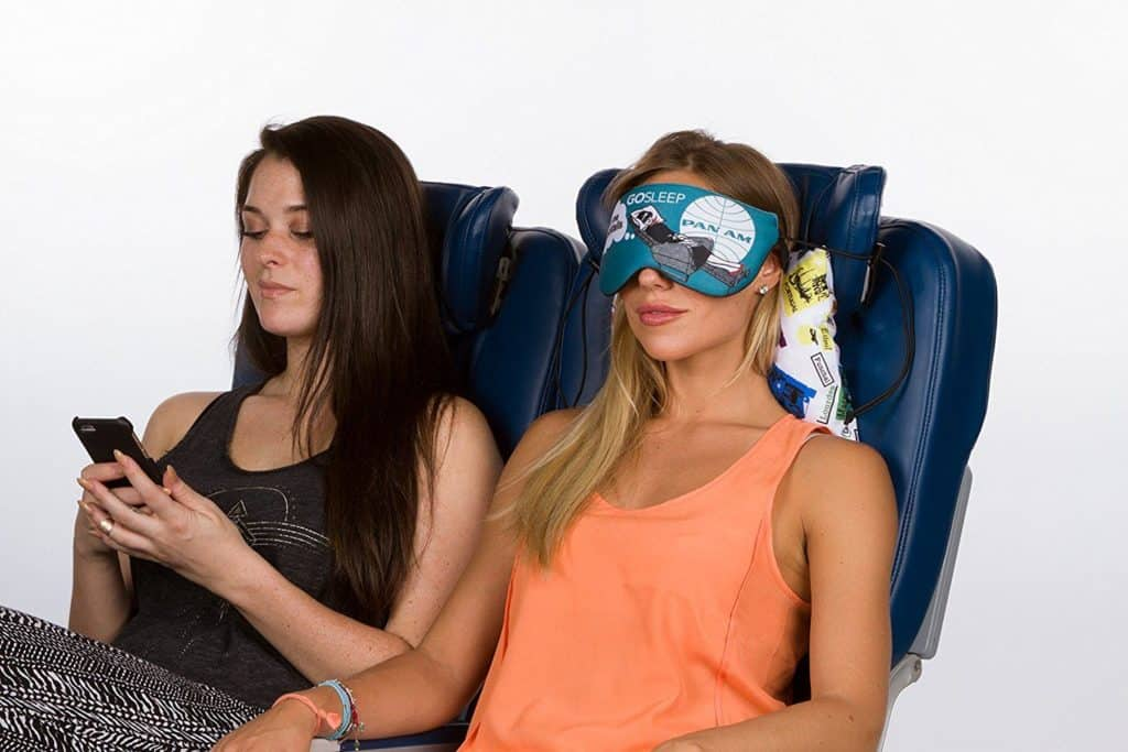 Best Sleep Mask Travel Kit with Memory Foam Pillow Review