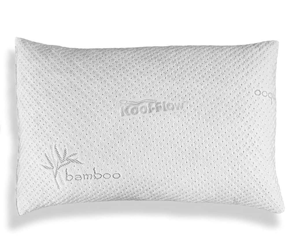 Hypoallergenic Bamboo Pillow – Shredded Memory Foam with Kool-Flow Review