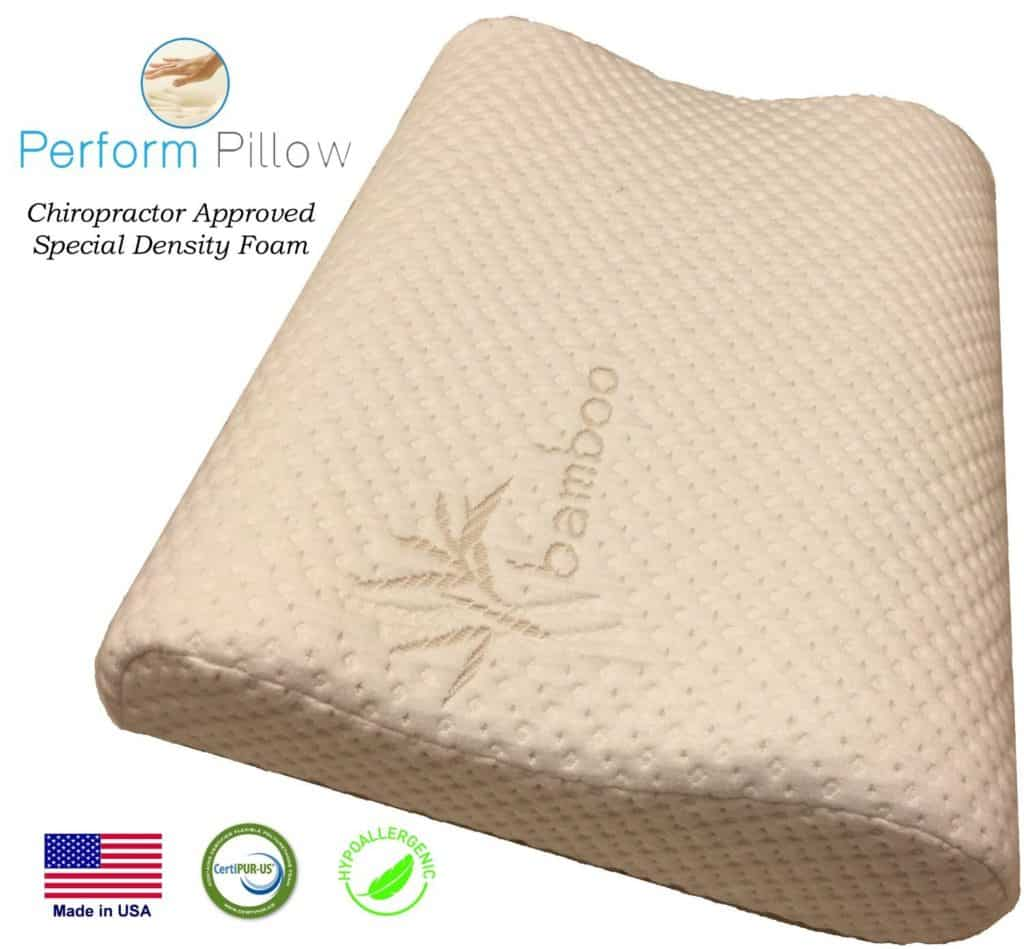 Memory Foam Neck Pillow Review – Great for Neck Pain, Sleeping & Travel