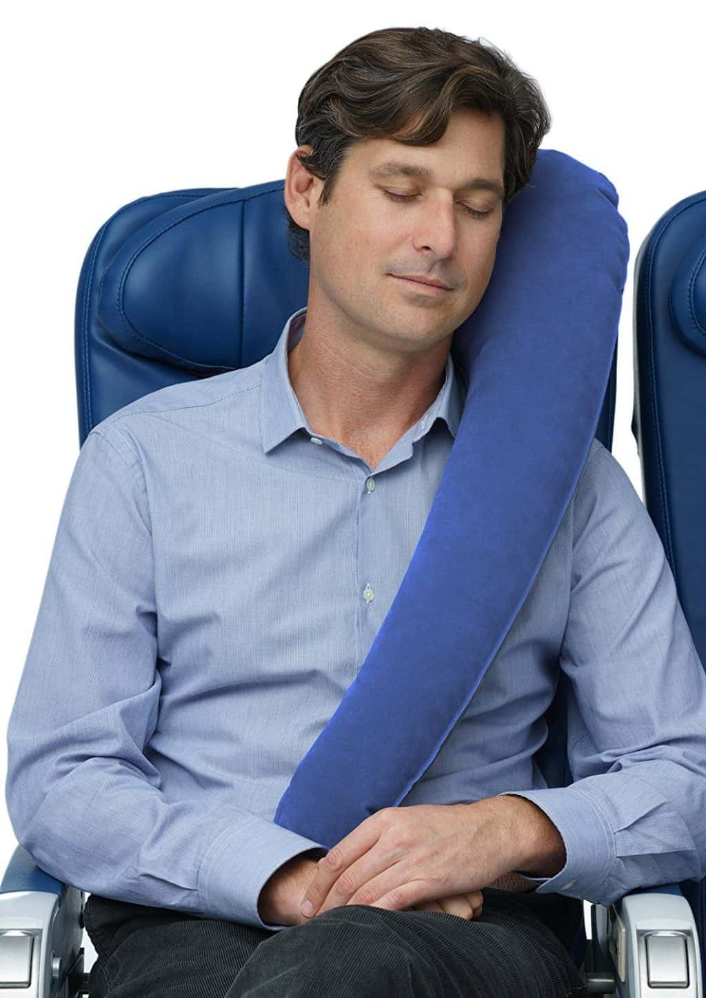 Travelrest Travel Pillow for Airplanes, Cars, Wheelchairs & Home