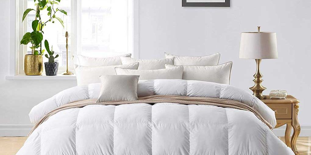 Egyptian Bedding 800 TC Hungarian Goose Down Comforter
