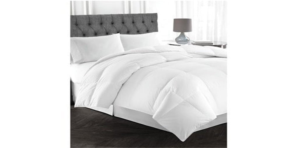 Lavish Comforts Double Brushed Microfiber Down Alternative Comforter