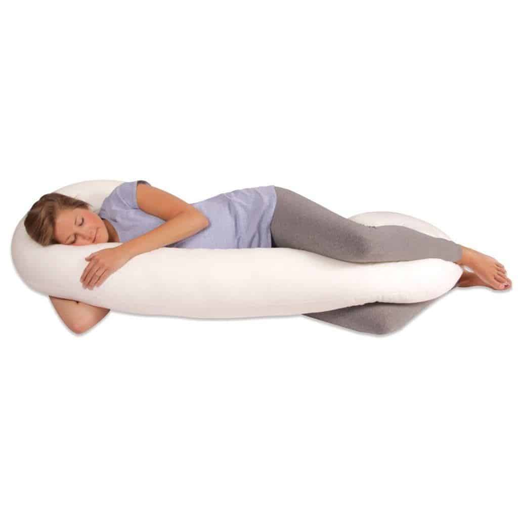 Leachco Snoogle Total Body Pillow, Sage