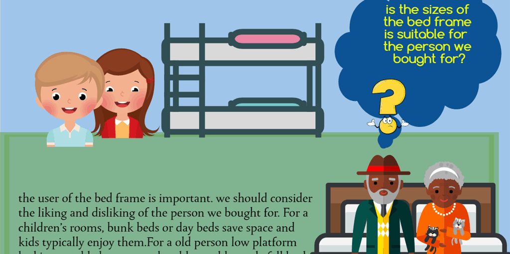 Things To Considered Before Buying A Bed Frame - Infographic