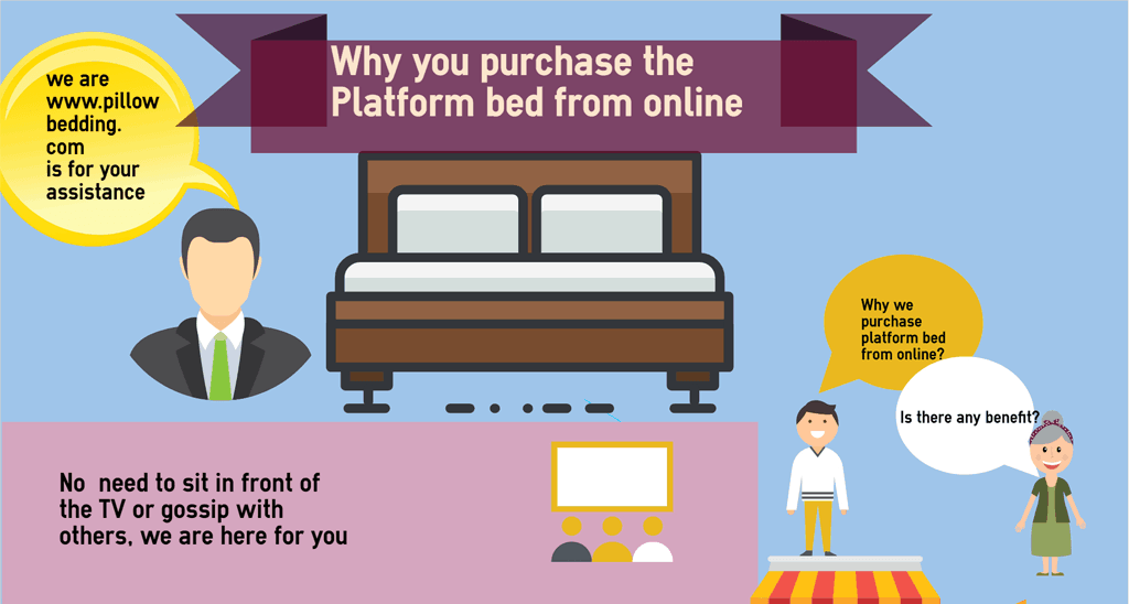 The Benefit Of Platform Beds – Info graphic