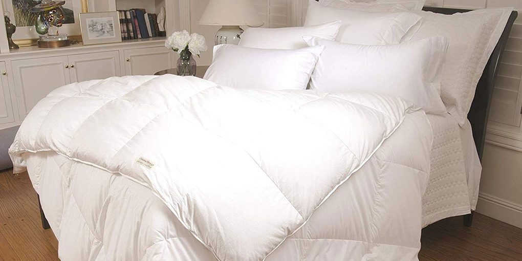 Warm Things Supremium Baffle Box Hungarian Goose Down Comforter