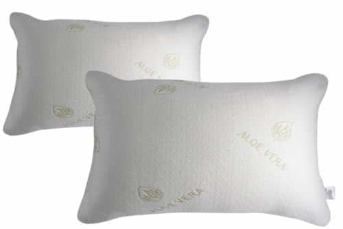 Asian Trade Aloe Vera Bamboo Memory Foam Pillow