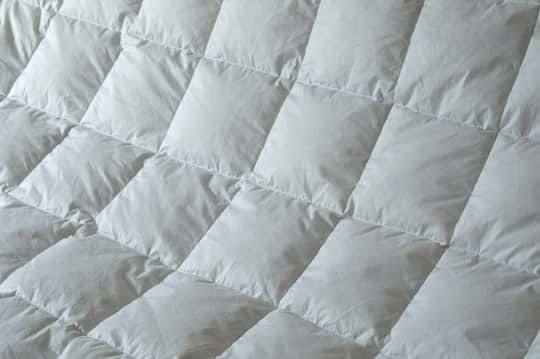 Down comforter Thread Count