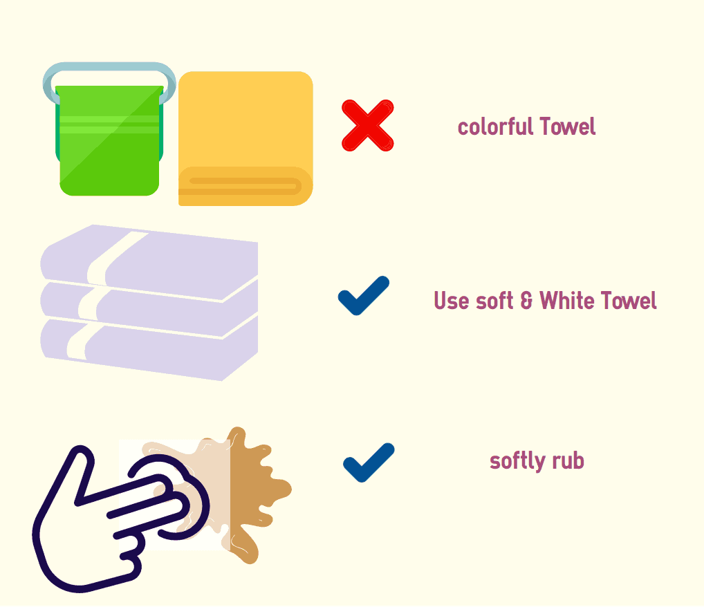 Use-white-towel
